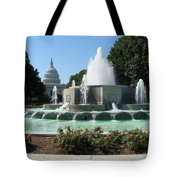 The House Of Democracy Tote Bag by Rod Jellison