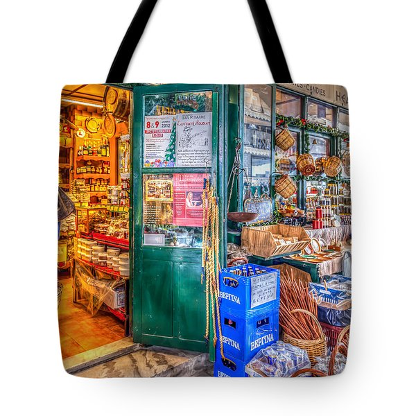 The House Of Spice Tote Bag