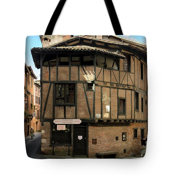 The House Of The Old Albi Tote Bag by RicardMN Photography
