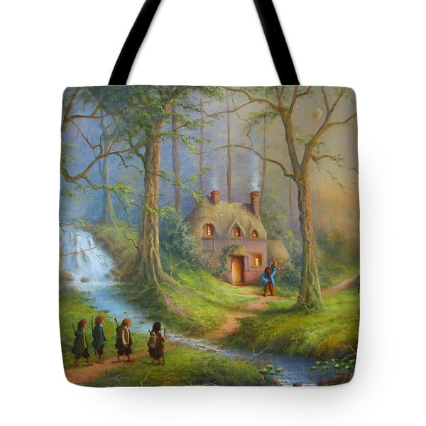 The House Of Tom Bombadil.  Tote Bag by Joe  Gilronan