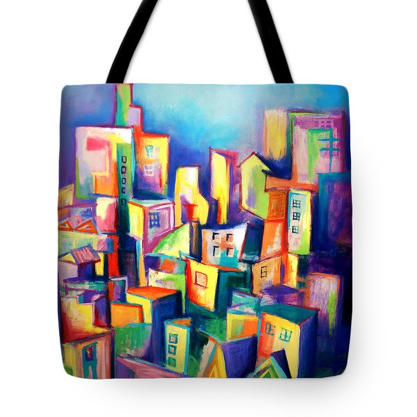 The Houses Tote Bag