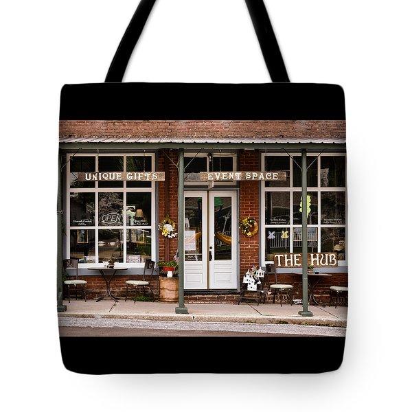 The Hub - Storefront - Vintage Tote Bag