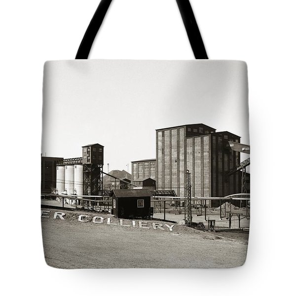 The Huber Colliery Ashley Pennsylvania 1953 Tote Bag