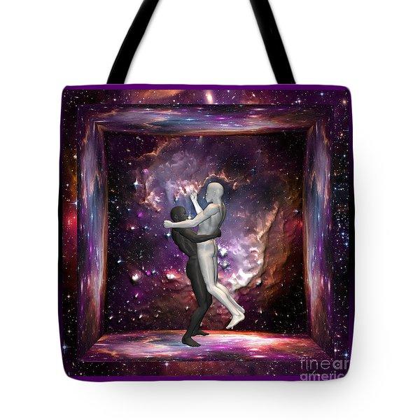 The Human Race Tote Bag