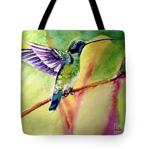 The Hummingbird Tote Bag