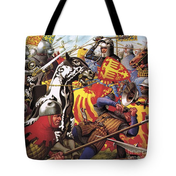The Hundred Years War  The Struggle For A Crown Tote Bag