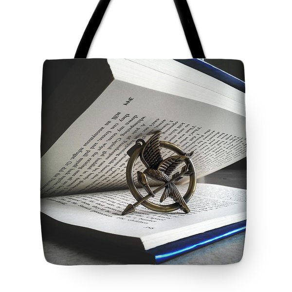 The Hunger Book Tote Bag