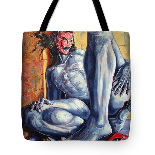 The Hunger Of The Eve Tote Bag by Darwin Leon