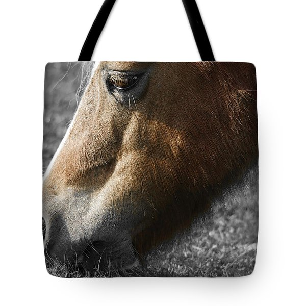 The Hungry Horse Tote Bag