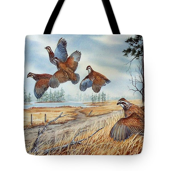 The Hunt  Sold Tote Bag
