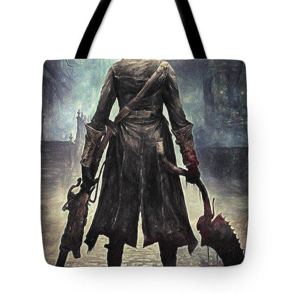 The Hunter - Bloodborne Tote Bag