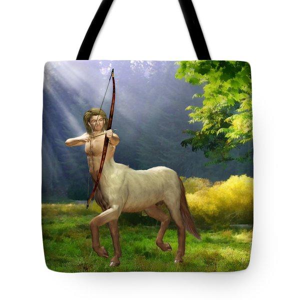 The Hunter Tote Bag by John Edwards