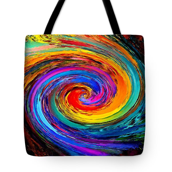 The Hurricane - Abstract Tote Bag