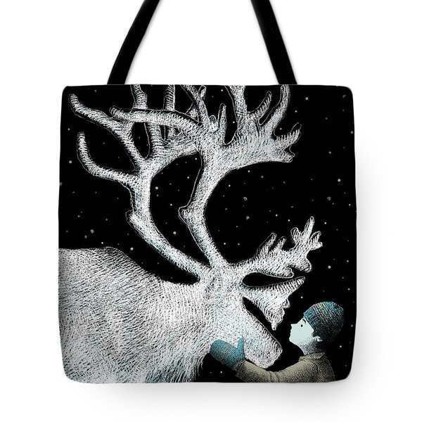 The Ice Garden Tote Bag