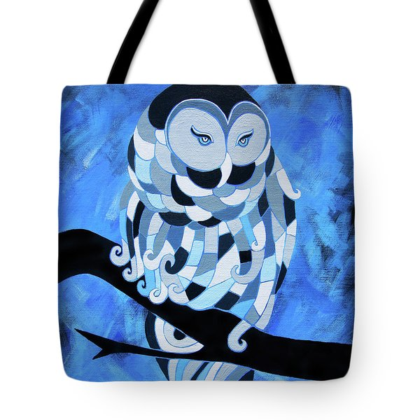 The Ice Owl Tote Bag