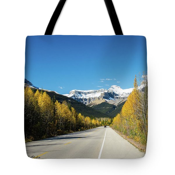 The Icefields Parkway Tote Bag