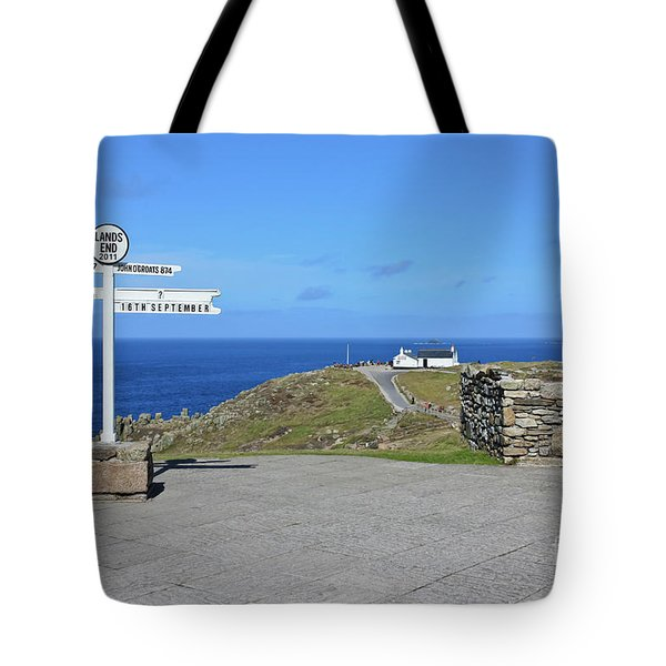The Iconic Lands End Tote Bag by Terri Waters