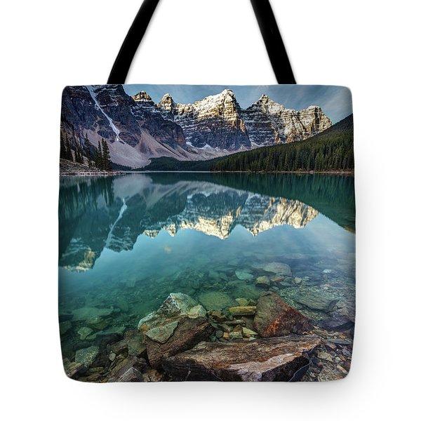 The Iconic Moraine Lake Tote Bag