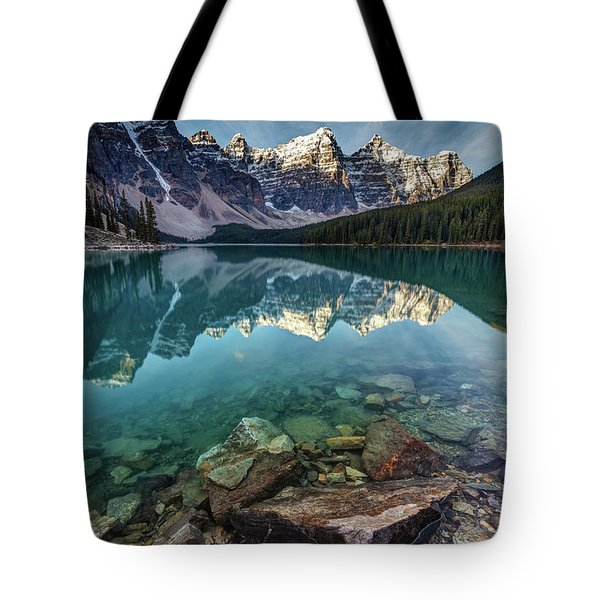 The Iconic Moraine Lake Tote Bag