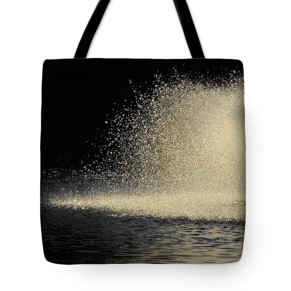 The Illusion Of Dark And Light With Water Tote Bag