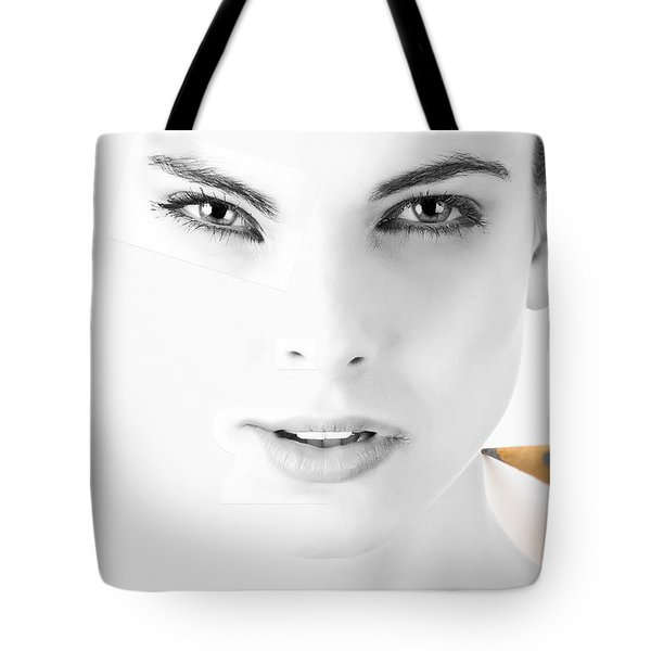 The Illusion Of Perfection Tote Bag