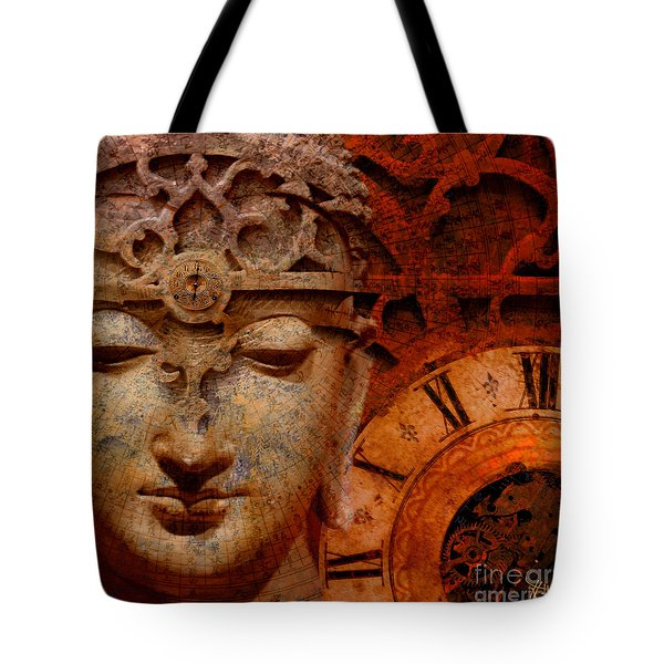 The Illusion Of Time Tote Bag