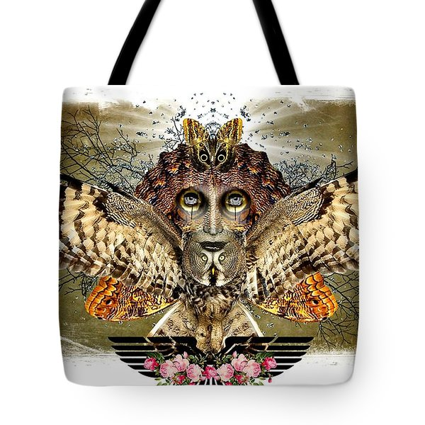 The Illusion Was Exposed Tote Bag