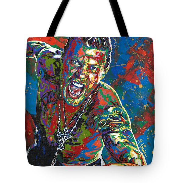 The Illustrated Man Tote Bag