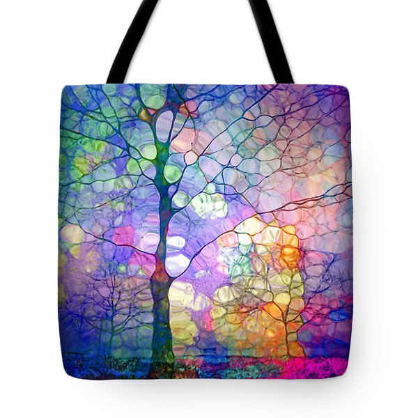 The Imagination Of Trees Tote Bag