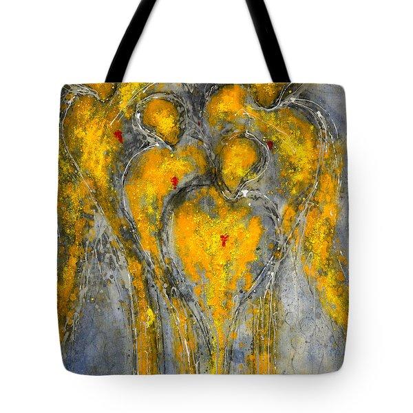 The Immortal Guardians Of Mortals Tote Bag