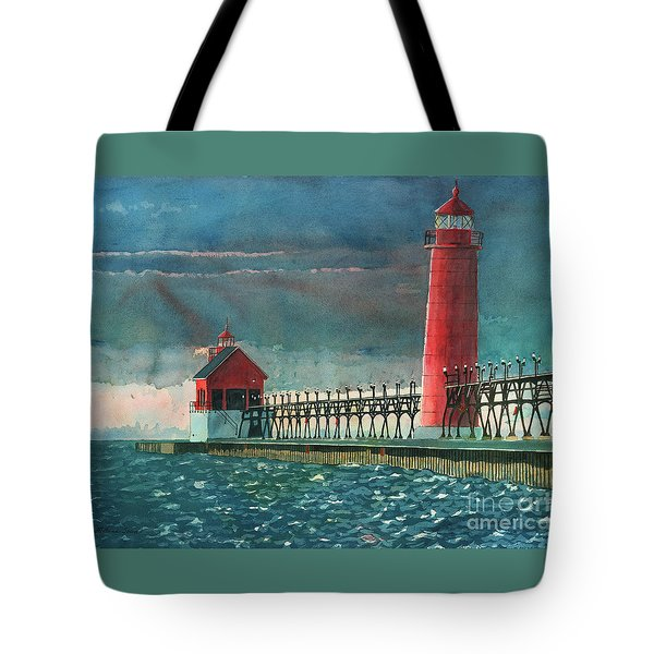 The Impending Storm Tote Bag by LeAnne Sowa