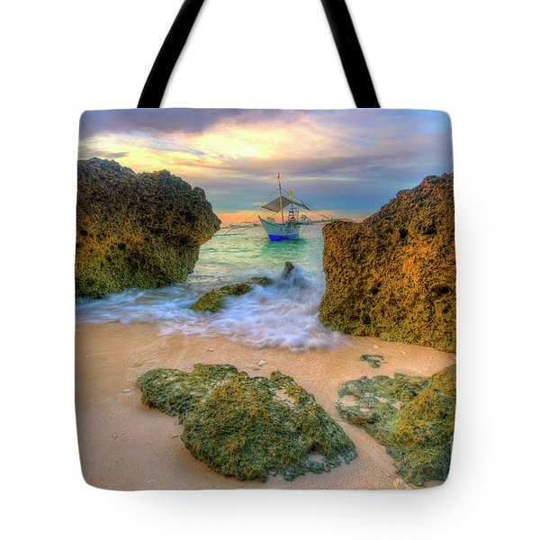 Tote Bag featuring the photograph The Inbetweener by Yhun Suarez