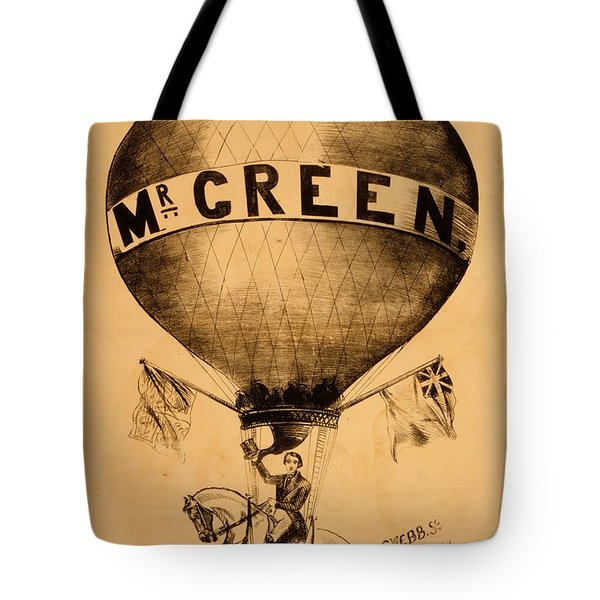 The Incredible Mr. Green Tote Bag