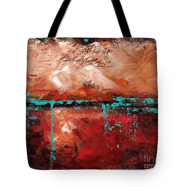 The Indian Bowl Tote Bag by Frances Marino