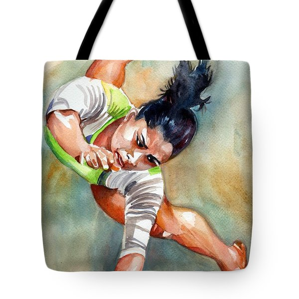 The Indian Gymnast Tote Bag