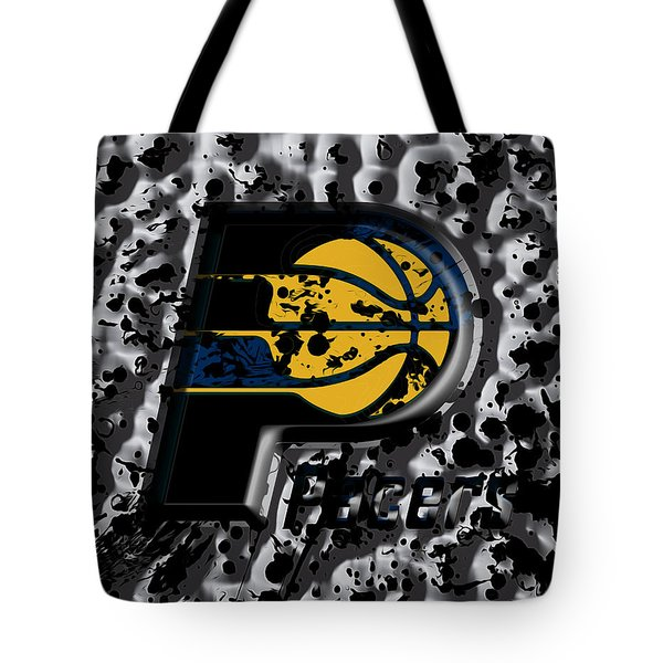 The Indiana Pacers Tote Bag by Brian Reaves
