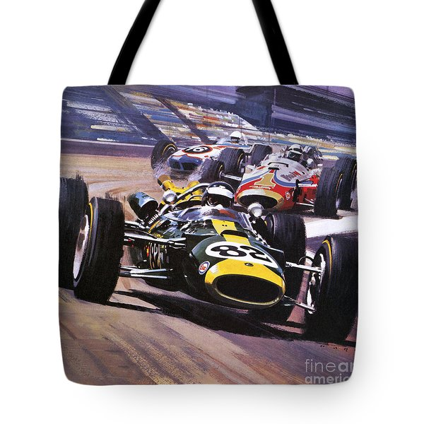 The Indianapolis 500 Tote Bag