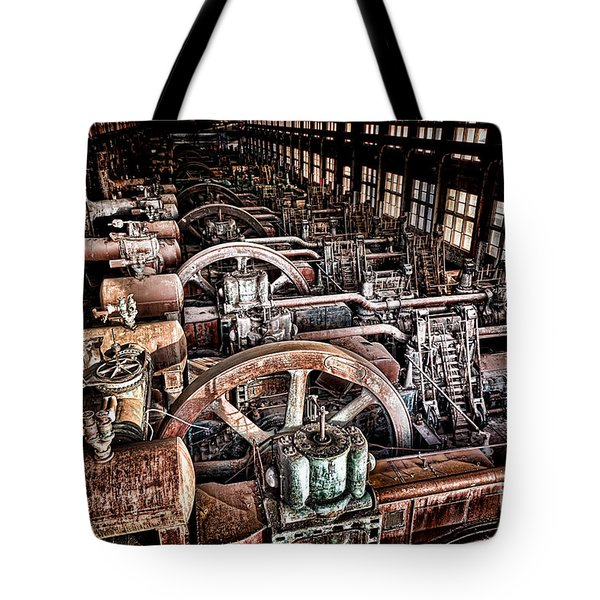 The Industrial Age Tote Bag
