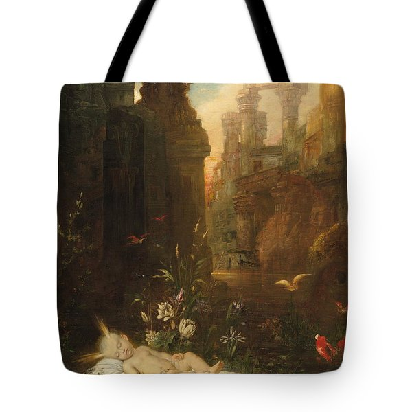 The Infant Moses 1876 Tote Bag