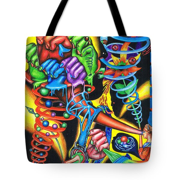 The Infinite Expansion Of A Cosmic Revelation Tote Bag