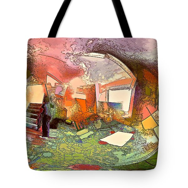 Space Geometry #14 Or The Inner Content Tote Bag