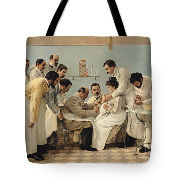 The Insertion Of A Tube Tote Bag