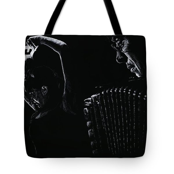 The Intensity Of Flamenco Tote Bag by Richard Young
