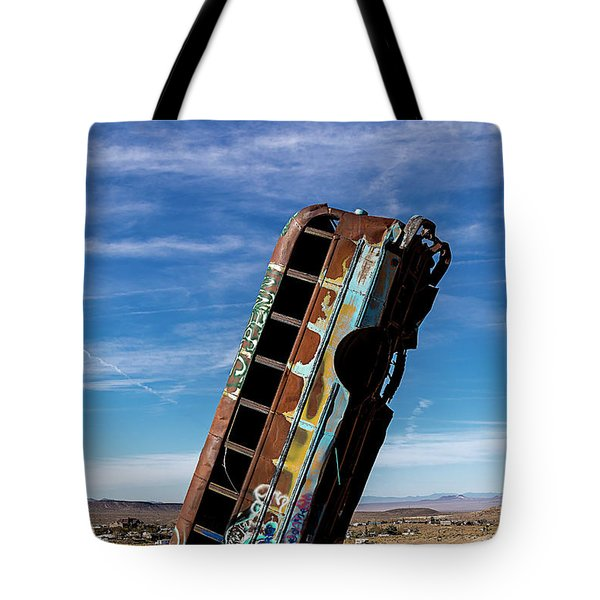 The International Car Forest Of The Last Church 2 Tote Bag