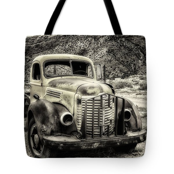 Tote Bag featuring the photograph The International Harvester Kb-7  by Bitter Buffalo Photography
