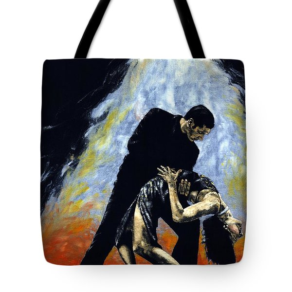 The Intoxication Of Tango Tote Bag by Richard Young