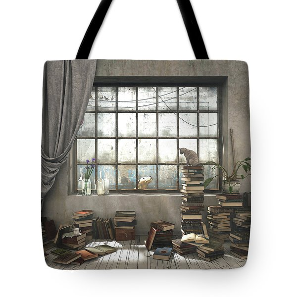 The Introvert Tote Bag