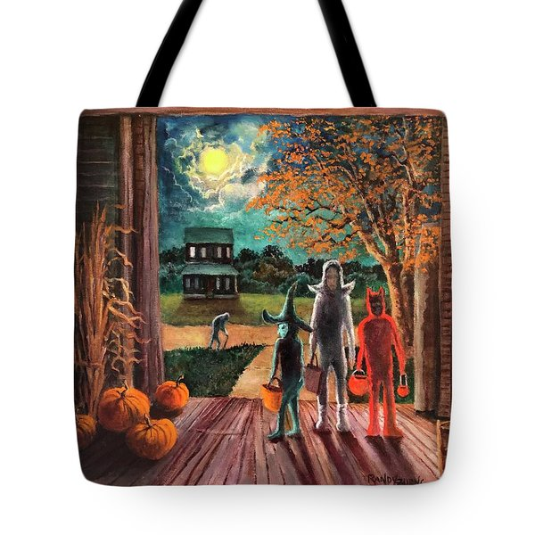 The Intruder Tote Bag