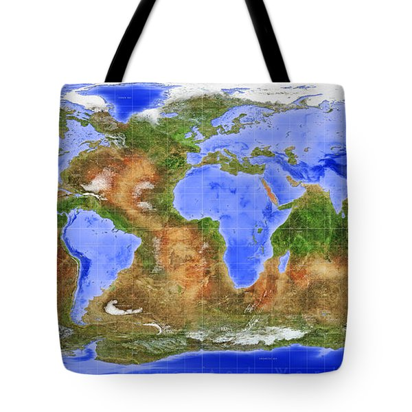 The Inverted World Tote Bag
