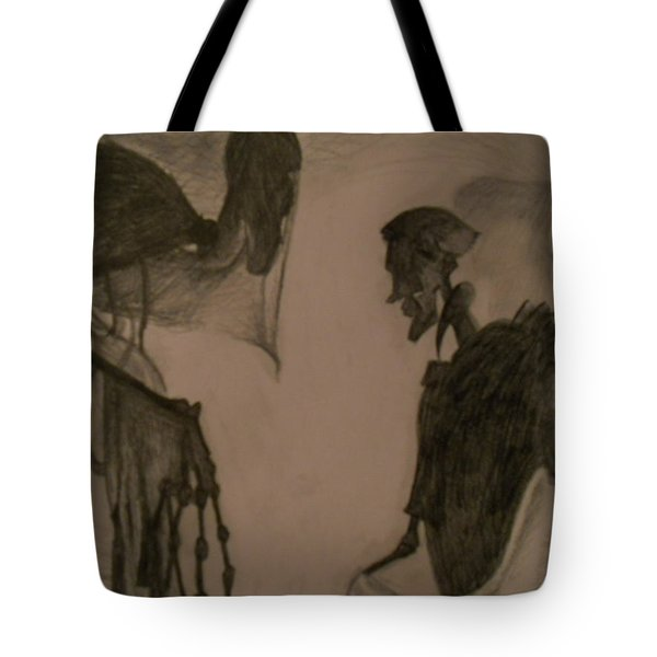The Invisibility Cloak Tote Bag by Lisa Leeman